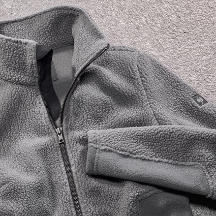Work Jackets: Faux fur jacket e.s.vintage, ladies' + pewter 2