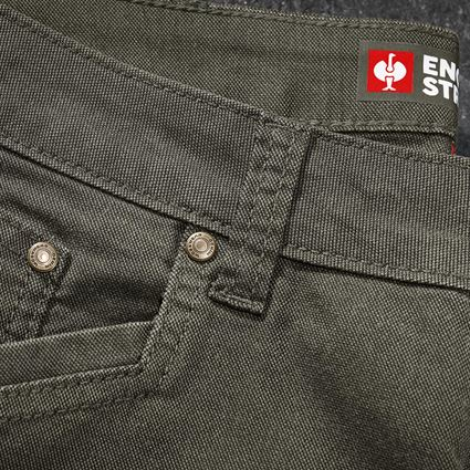 Work Trousers: 5-pocket Trousers e.s.vintage + disguisegreen 2