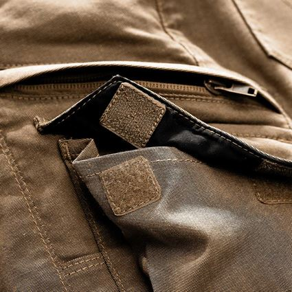 Work Trousers: Cargo trousers e.s.vintage, ladies' + sepia 2