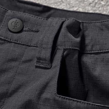Trousers: Trousers e.s.concrete solid, children's + black 2