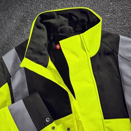 Work Jackets: e.s. Work jacket multinorm high-vis + high-vis yellow/black 2