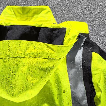 Work Jackets: e.s. Weatherproof parka multinorm high-vis + high-vis yellow/black 2
