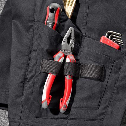Work Trousers: Shorts e.s.concrete light + black 2