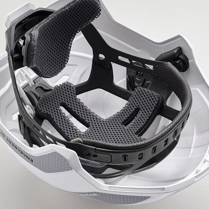 Hard Hats: e.s. Work helmet Protos® + white/platinum 2