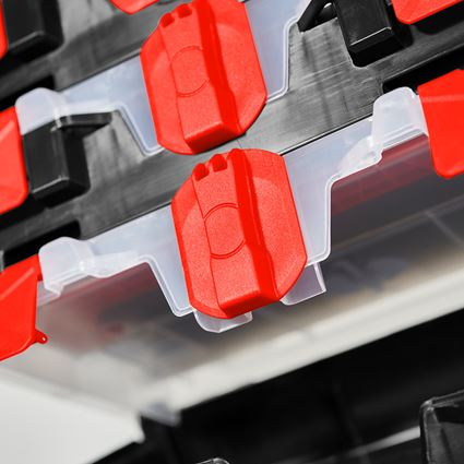 Tool Cases: STRAUSSbox mini + black/red 2