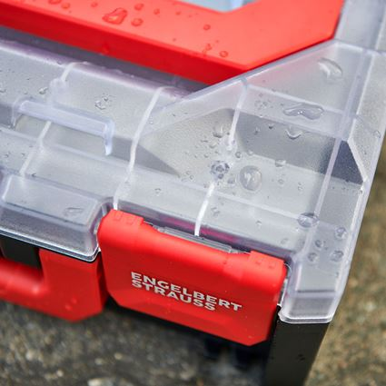 Tool Cases: STRAUSSbox 118 midi + transparent/black 2