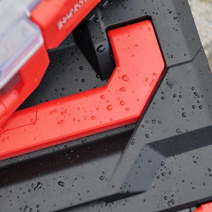 Tool Cases: STRAUSSbox 118 midi + black/red 2