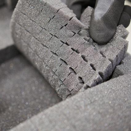 Tool Cases: Pre-cut foam insert STRAUSSbox 145 midi+ 2