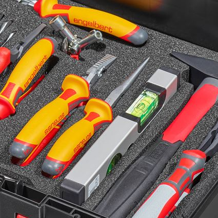 Tool Cases: STRAUSSbox tool set 145 Electro 2