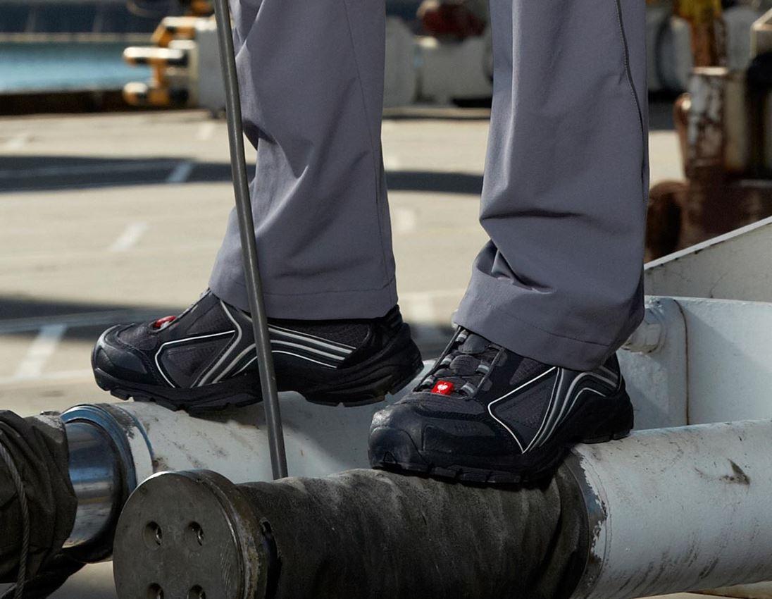 O2: e.s. O2 Work shoes Minkar + graphite