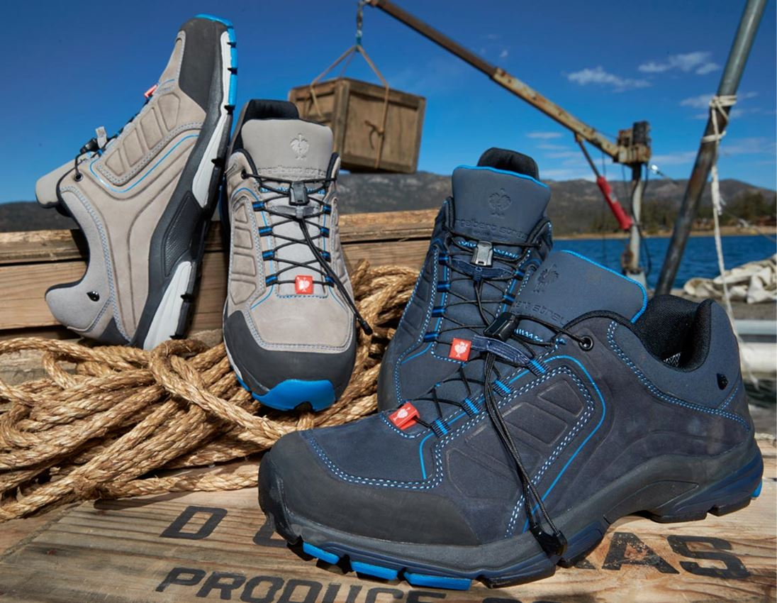 O2: e.s. O2 Work shoes Minkar Leder + ash/atoll 1