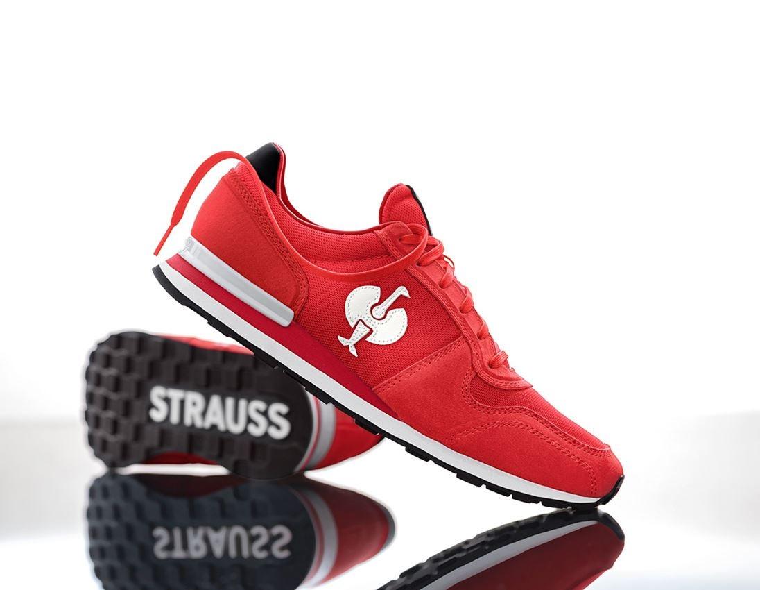 O1: O1 Work shoes e.s. Kitulo + red