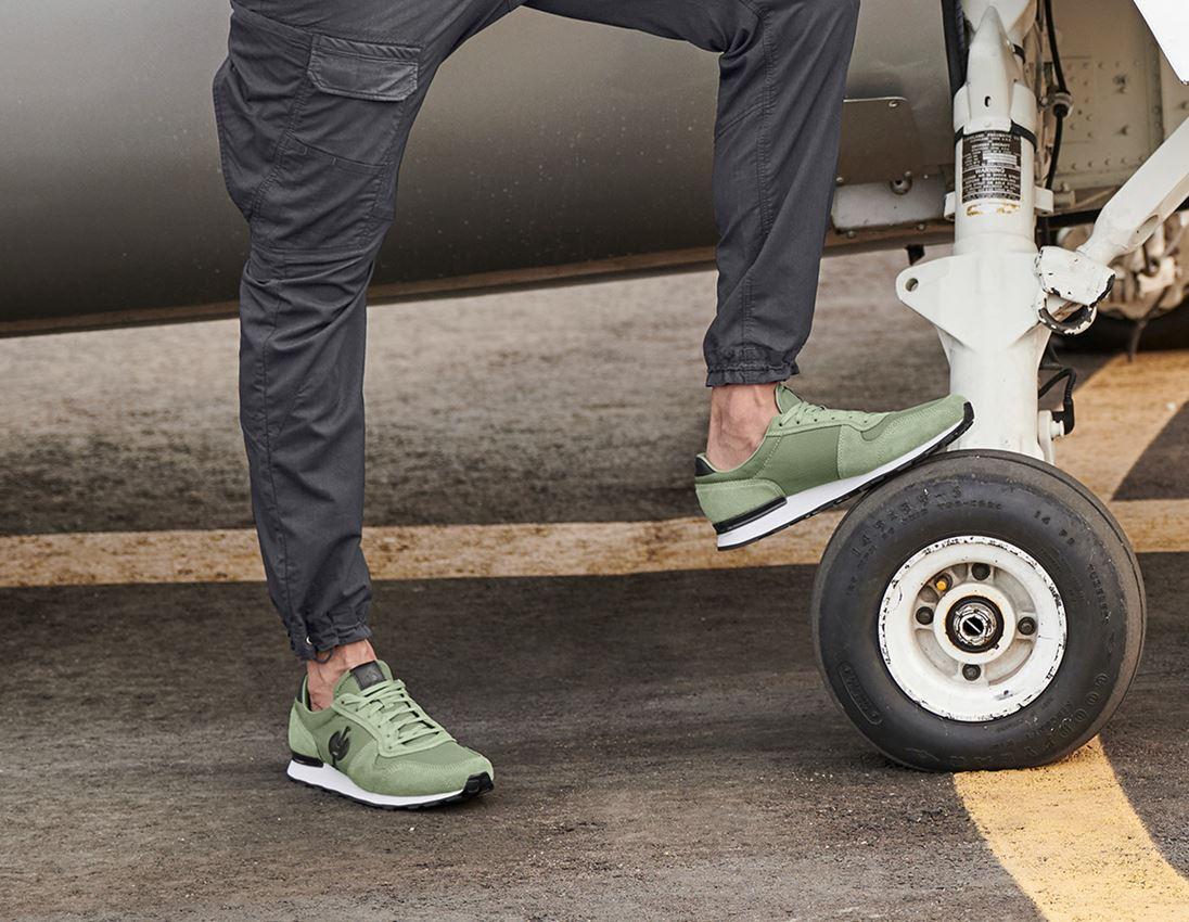 O1: O1 Work shoes e.s. Kitulo + palegreen 1