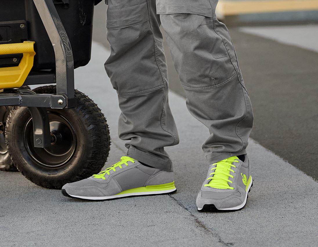 O1: O1 Work shoes e.s. Kitulo + pearlgrey/high-vis yellow 1