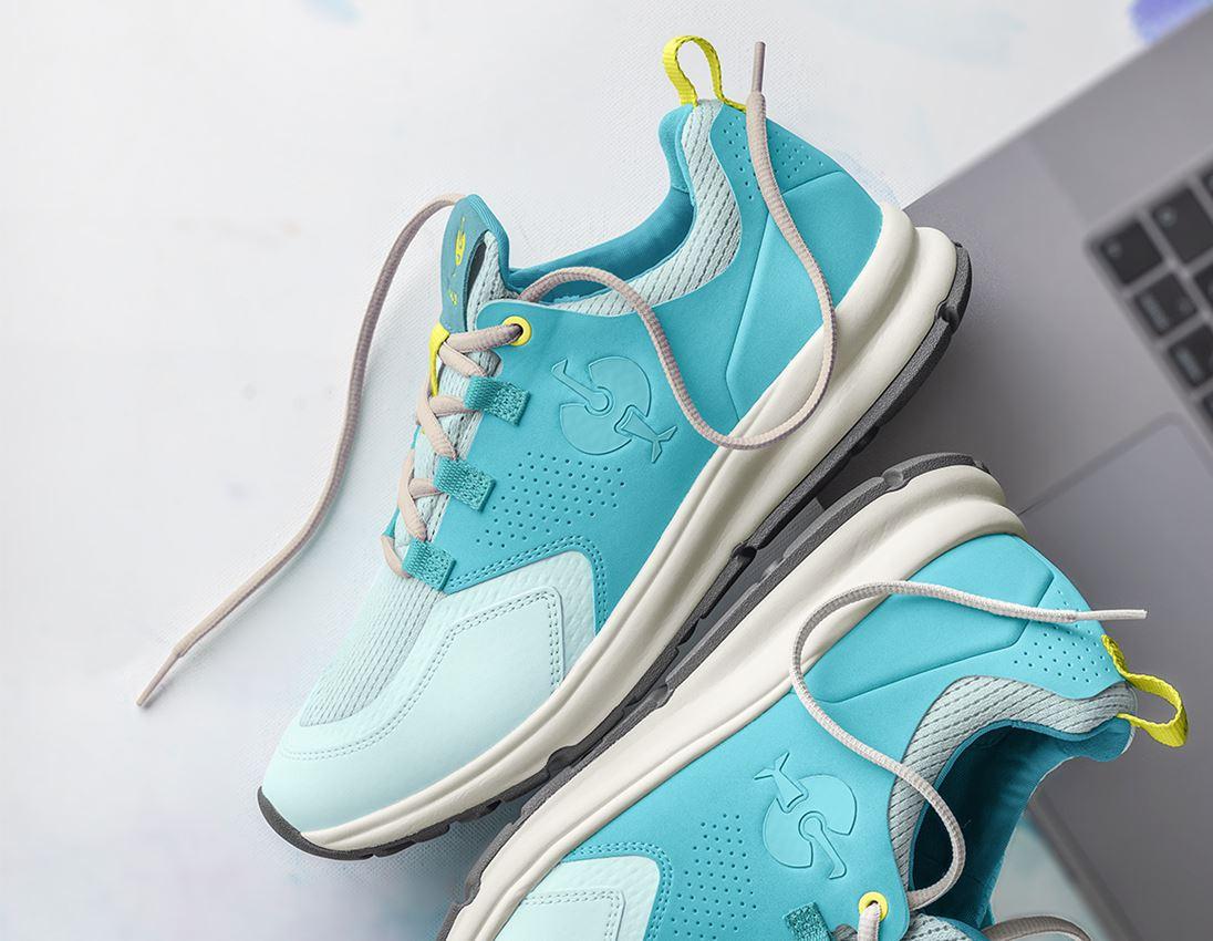 O1: O1 Work shoes e.s. Honnor II, ladies' + aquamarine