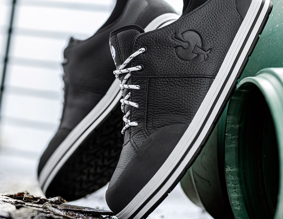 S3: e.s. S3 Safety shoes e.s. Spes II low + black