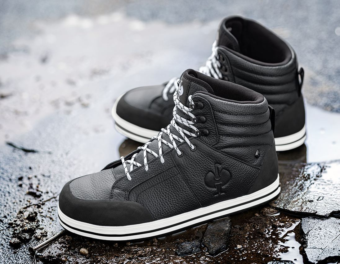 S3: S3 Safety boots e.s. Spes II mid + black