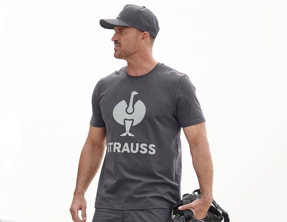 Shirts, Pullover & more: T-Shirt e.s.concrete + anthracite