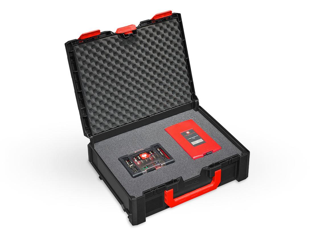 Tool Cases: Pre-cut foam insert STRAUSSbox 145 midi+