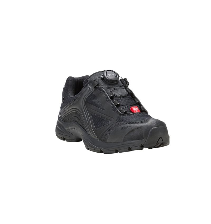 O2: e.s. O2 Work shoes Minkar + black 1