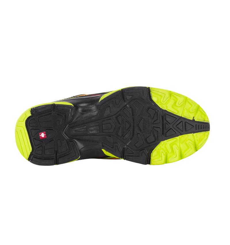 Kids Shoes: e.s. Allround shoes Minkar, children's  + black/high-vis yellow/high-vis orange 2
