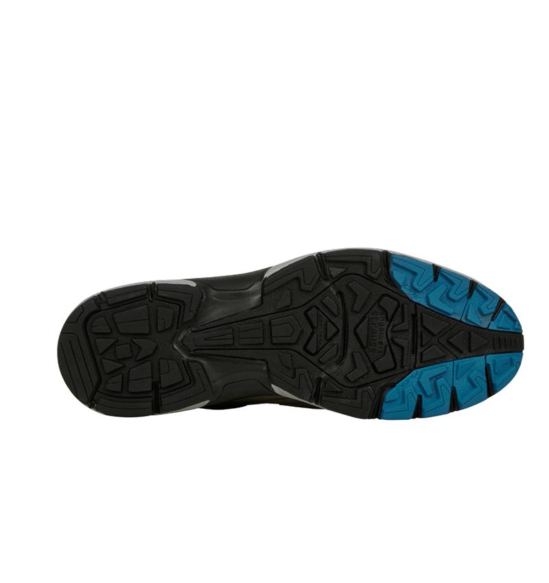 O2: e.s. O2 Work shoes Minkar Leder + ash/atoll 5