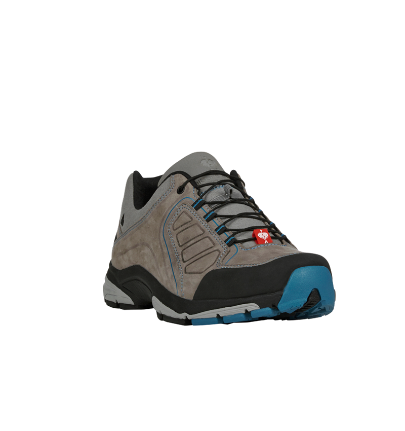 O2: e.s. O2 Work shoes Minkar Leder + ash/atoll 4