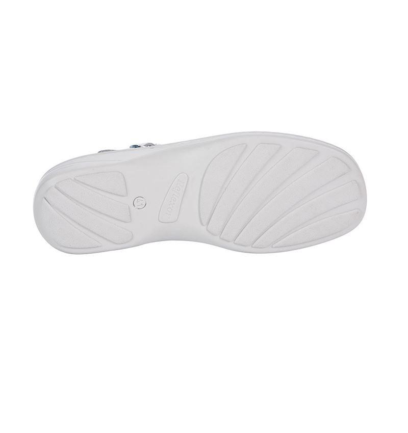OB: ABEBA OB Ladies' comfort clogs Nicole + white 2