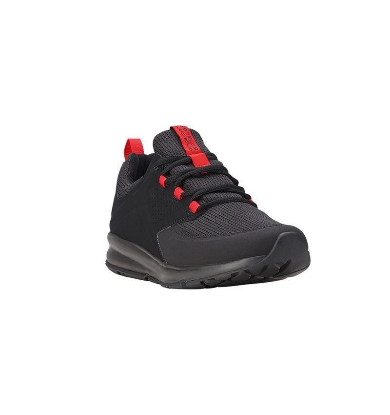 O1: e.s. O1 Work shoes Honnor, men's + oxidblack/red 1
