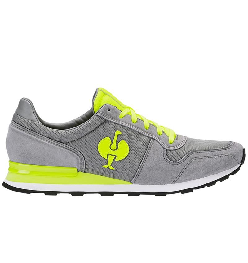 O1: O1 Work shoes e.s. Kitulo + pearlgrey/high-vis yellow