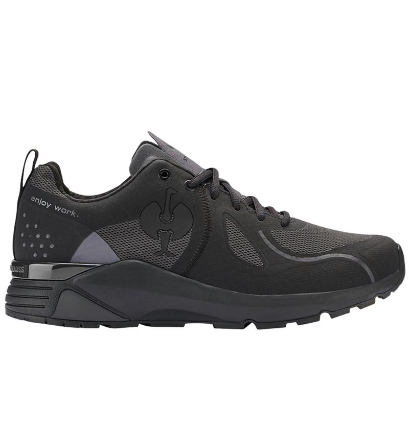 O1: O1 Work shoes e.s. Chete + black/anthracite