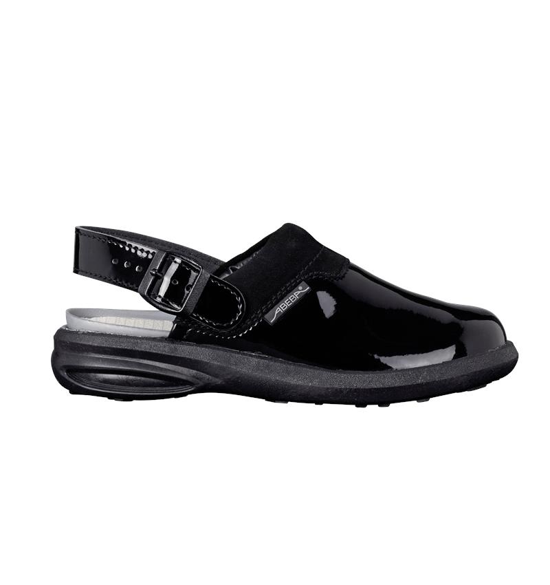 OB: OB Ladies' clogs Maracay + black
