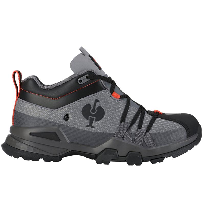 O2: O2 Work shoes e.s. Kobuk low + anthracite/solarred