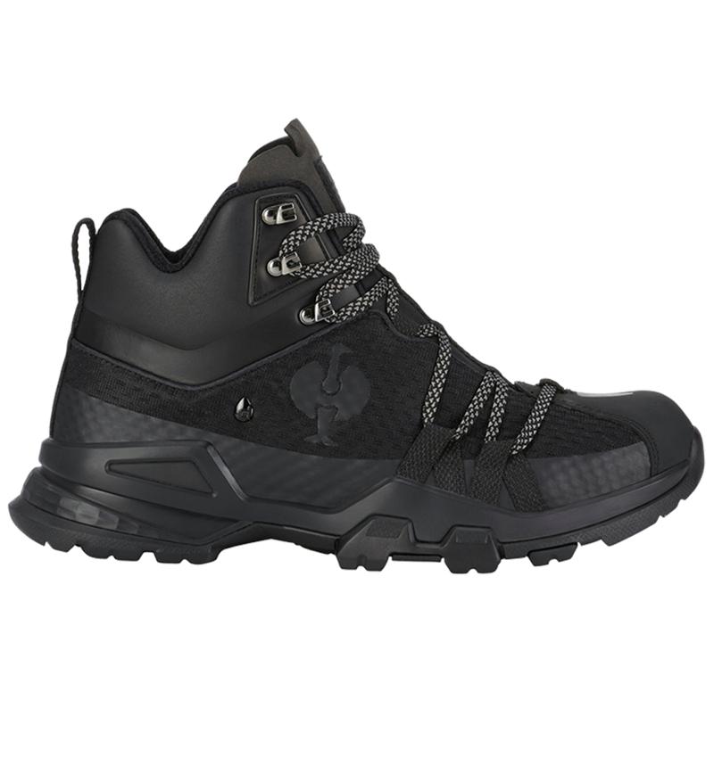 O2: O2 Work shoes e.s. Kobuk mid + black