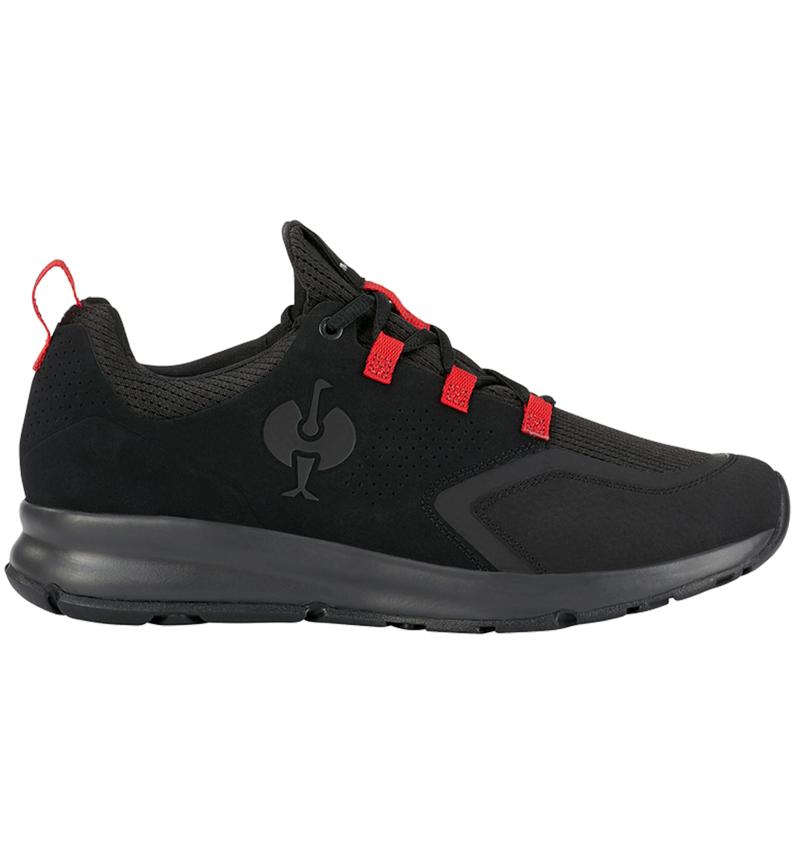 O1: O1 Work shoes e.s. Honnor II, men's + oxidblack/red