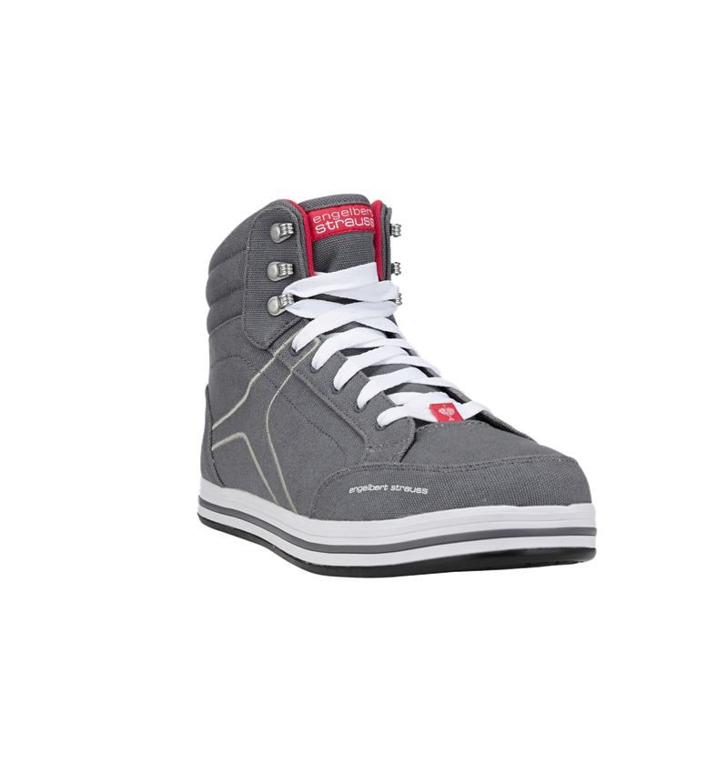 S1P: e.s. S1P Safety boots Tolosa mid + cement/stone 2