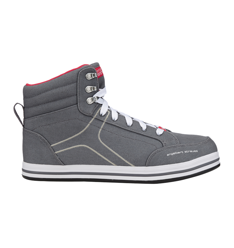 S1P: e.s. S1P Safety boots Tolosa mid + cement/stone