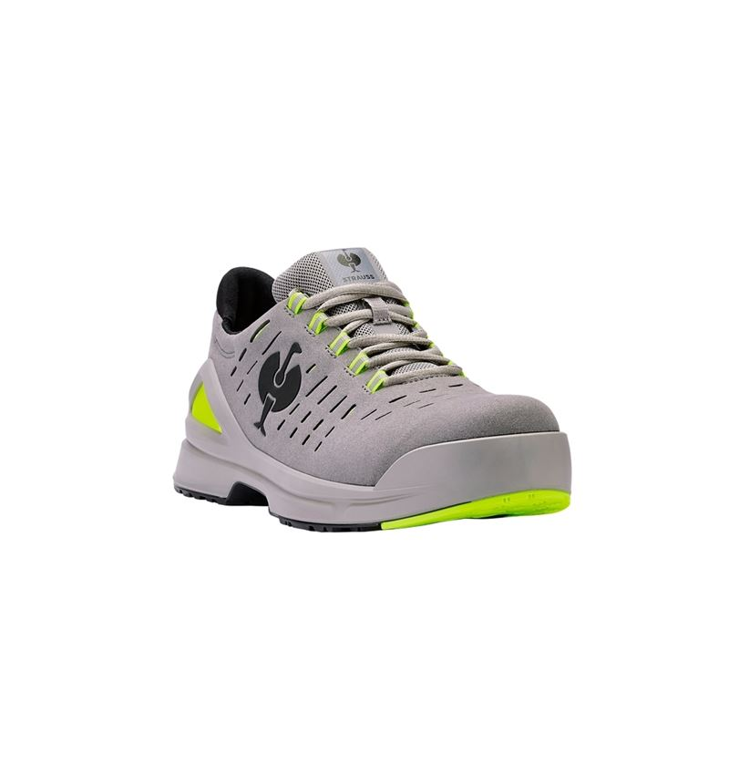 S1: S1 Safety shoes e.s. Zembra + pearlgrey/high-vis yellow 1