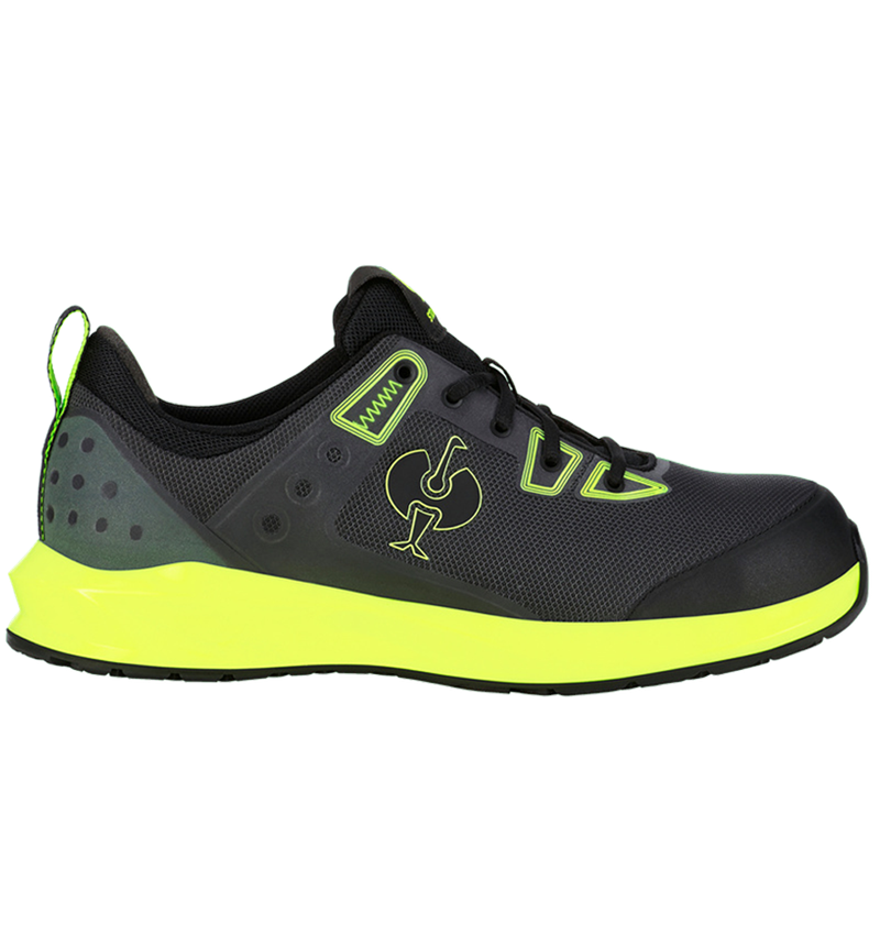 S1: S1 Safety shoes e.s. Hades II + black/high-vis yellow