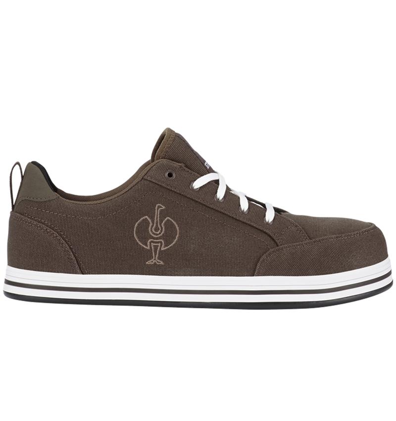 S1: S1 Safety shoes e.s. Tolosa II low + chestnut/hazelnut