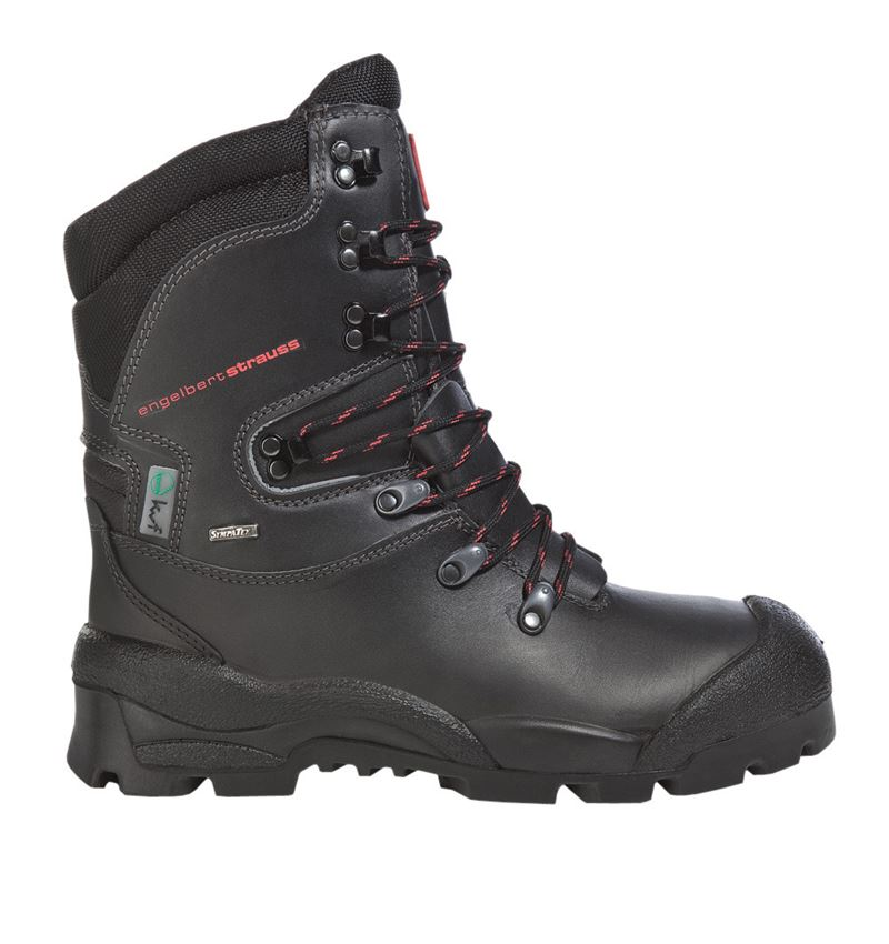S2: S2 Forestry safety boots Harz + black