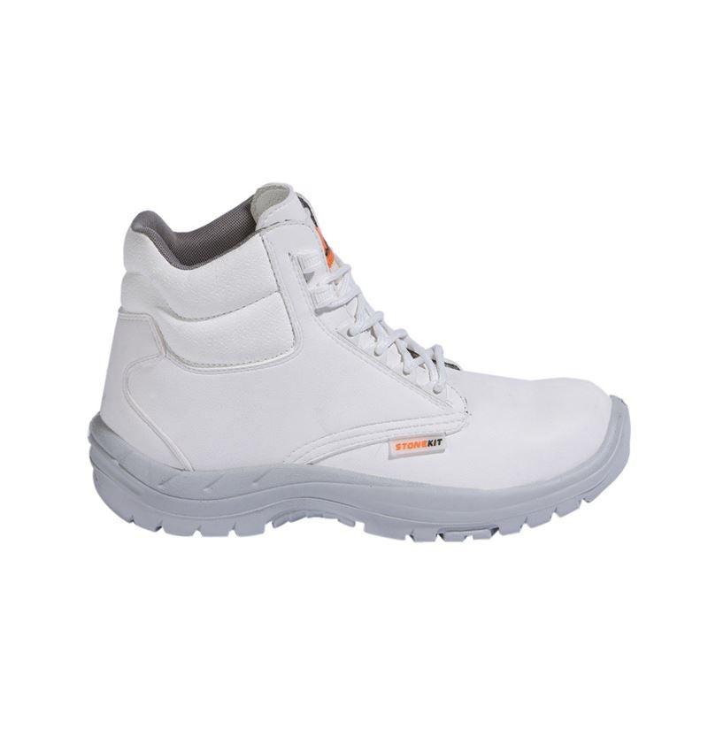 S2: STONEKIT S2 Safety boots Paros + white