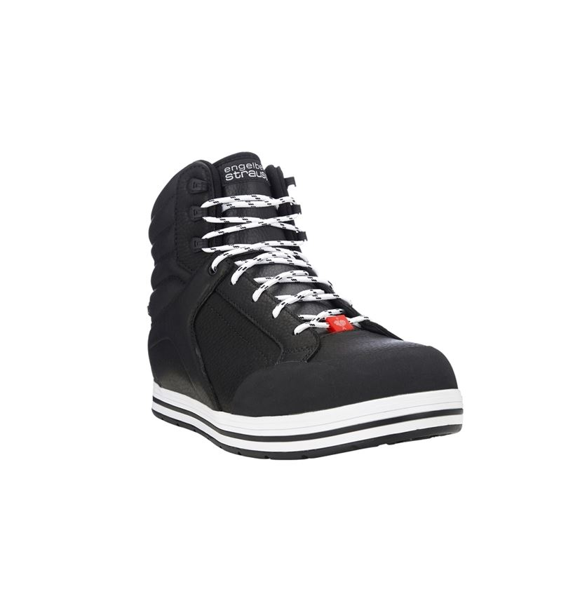 S3: e.s. S3 Safety boots Spes mid + black 7