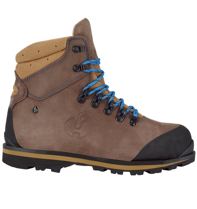S3: S3 Safety boots e.s. Alrakis II mid + bark/walnut/atoll
