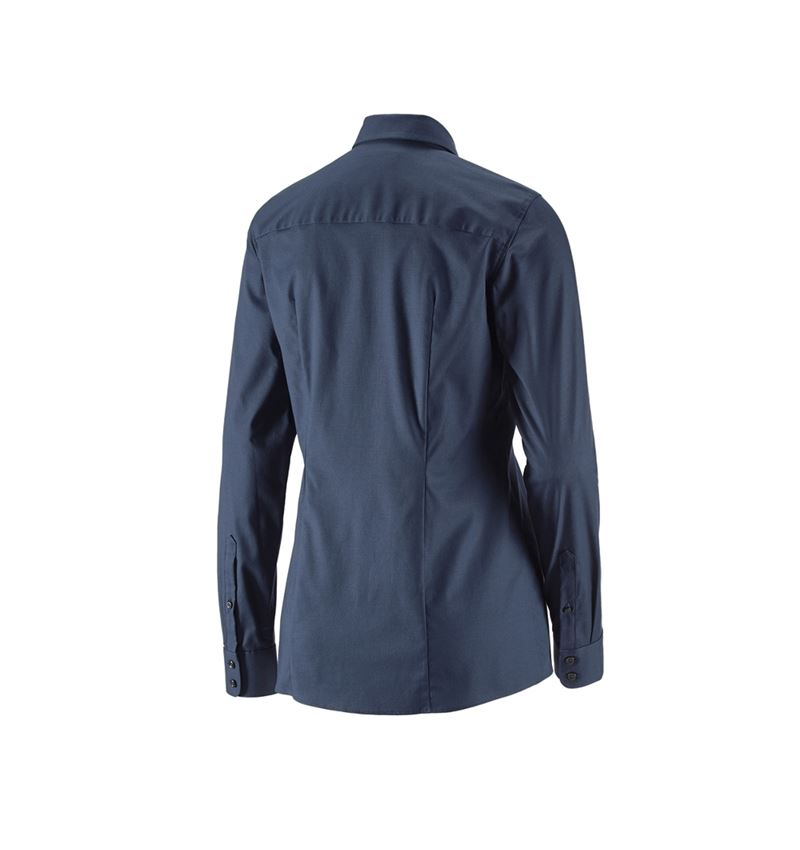 Shirts, Pullover & more: e.s. Business blouse cotton str. lad. regular fit + navy 2