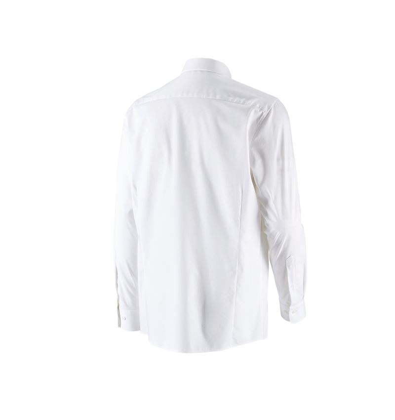 Shirts, Pullover & more: e.s. Business shirt cotton stretch, comfort fit + white 2