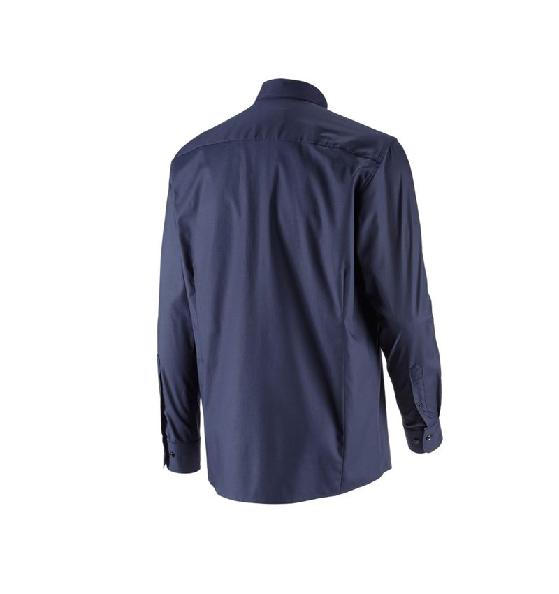 Shirts, Pullover & more: e.s. Business shirt cotton stretch, comfort fit + navy 3