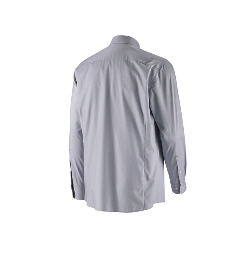 Shirts, Pullover & more: e.s. Business shirt cotton stretch, comfort fit + mistygrey 2