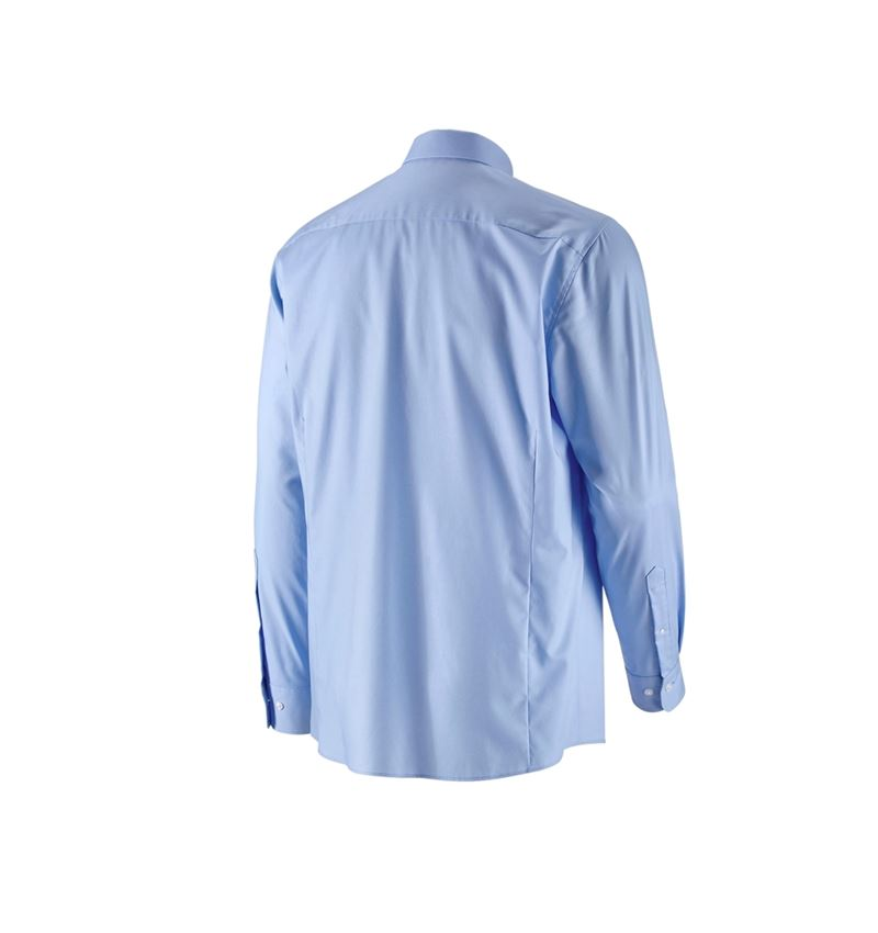 Shirts, Pullover & more: e.s. Business shirt cotton stretch, comfort fit + frostblue 3