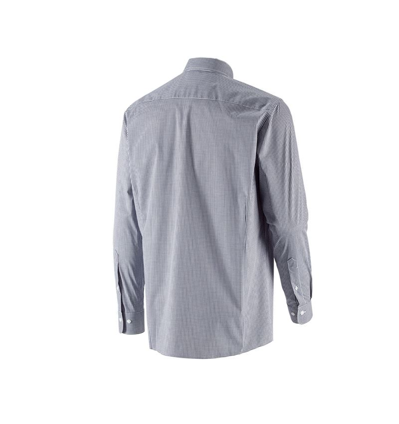 Shirts, Pullover & more: e.s. Business shirt cotton stretch, comfort fit + navy checked 3